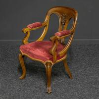 Set of Six Victorian Mahogany Chairs (5 of 13)