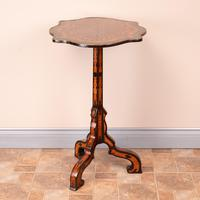 19th Century Marquetry Tripod Table (9 of 17)