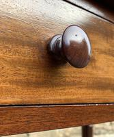 Antique Victorian Mahogany Side Table (2 of 17)