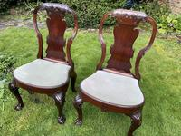 Pair of George I style chairs (4 of 8)