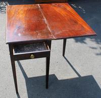 1850's Victorian Mahogany Side Table (3 of 4)
