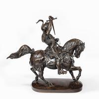 Italian Bronze Equestrian Sculpture of Emanuele Filiberto, Duke of Savoia, by Baron Carlo Marochetti (5 of 17)