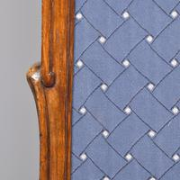 Louis XVI Style Mahogany Folding Screen (9 of 10)