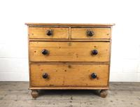 Victorian Pine Chest of Drawers (12 of 13)