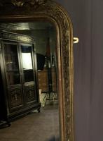 Large French Napoleon III Gilt Wall Mirror (7 of 7)