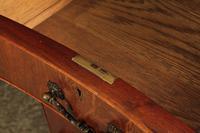Large Mahogany Serpentine Shaped Partners Desk (9 of 20)
