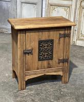 Small Bleached Oak Cupboard (2 of 20)