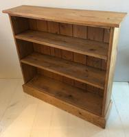 Late Victorian Pine Bookcase (2 of 7)