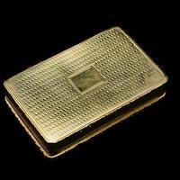 Georgian Solid Silver Gilt Snuff Box With Spectacular Fox Hunting Scene - Edward Smith 1832 (7 of 22)