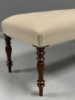 5' Newly Upholstered Regency Long Stool (2 of 6)