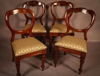 Good Set of 12 Victorian Balloon Back Dining Chairs (6 of 11)