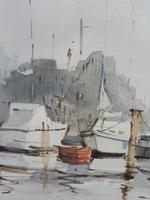 Watercolour The Moorings Listed Artist Diana Scott (4 of 10)