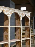French Scraped Paint Wall Shelves or Display Box (4 of 17)