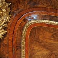 Victorian Inlaid Walnut Side Cabinet (15 of 17)