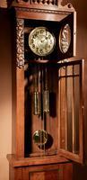 Impressive Black Forest Oak Grunderzeit Longcase Clock c.1910 (9 of 13)
