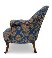 Small Napoleon III Buttoned Tub Chair (5 of 6)