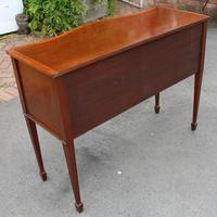 1960's Mahogany Serpentine Sideboard with Cutlery Drawer (5 of 5)
