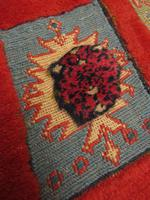 Superbly Colourful Antique Rahra Rug, Kilim Rug (11 of 13)