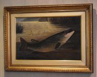 English Naive School Oil of a Pike (3 of 6)