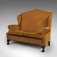 Antique Queen Anne Style Sofa, English, Two Seat Settee, Victorian, Circa 1880 (5 of 10)