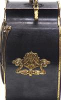 Fine French Ebony & Ormolu Boulle Mantel Clock – Farcot Skelton Dial 8 Day Mantle Clock (2 of 9)