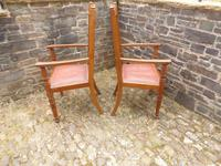 A Pair of Arts and Crafts Oak Chairs (4 of 10)