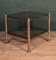 Mid Century Brass Coffee Table (4 of 5)