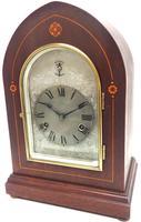 Antique German Quarter Chiming Mantel Clock (2 of 11)