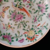 Chinese Porcelain Fencai, Celadon Plate, Qing Dynasty Tongzhi Period (6 of 8)