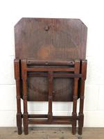 Antique 19th Century Mahogany Folding Table or Small Table (10 of 10)