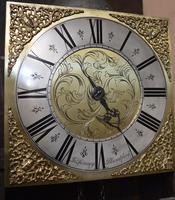 John Spinney Blandford Forum Longcase Grandfather Clock (2 of 7)
