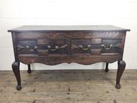 Antique Oak Jacobean Style Sideboard