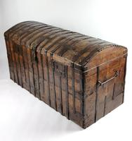 Large Early 17th Century Iron Bound Chest (14 of 22)
