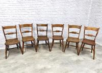Set of Oxford Barback Windsor Chairs with 2 Carvers (2 of 7)