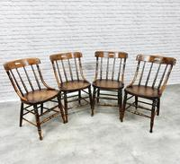 Set of 4 Windsor Country Kitchen Chairs (2 of 6)