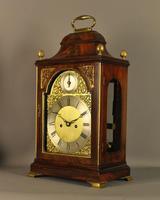 Mahogany Verge Repeating Fusee Bracket Clock (12 of 12)