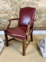 Pair of Victorian Mahogany Framed Armchairs (5 of 8)