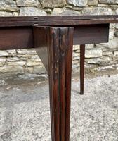 Antique Georgian Mahogany Fold Over Tea Table (26 of 27)