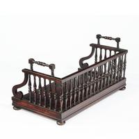 Regency rosewood book tray attributed to Gillows (2 of 7)