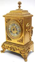 Fine Antique French 8-day Striking Mantel Clock - Sought Solid Bronze Ormolu Case (3 of 11)