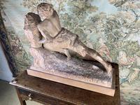 Large Terracotta Sculpture by Émile Grégoire (10 of 10)