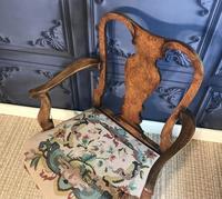 Quality Burr Walnut Child's Chair (2 of 13)