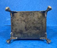 Arts & Crafts Glass and Brass Single Tea Caddy. (16 of 18)