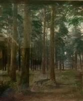 Pair of 19thc Woodland Scenes - signed Macdonald (3 of 5)