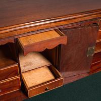 Antique Secretaire Cabinet, English, Chest of Drawers, Bureau, Desk, Georgian (10 of 12)