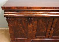 Antique Victorian Mahogany Chiffonier Sideboard Server (7 of 14)