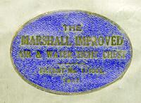 WW1 Era Marshall Campaign Chest / Trunk, Labels & Provenance (14 of 23)