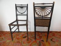 Pair of Chairs in the manner of E.W.Godwin (9 of 11)