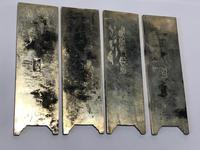 Antique Chinese Solid Silver Zu Yin Hallmarked Scroll Weight Plaques Guangxu (20 of 24)