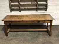 Rustic French Oak Farmhouse Dining Table (6 of 26)